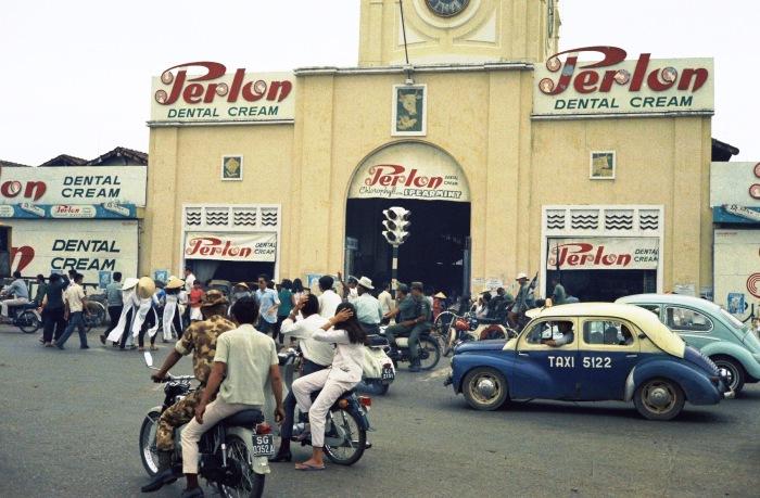 Cổng chính của chợ Bến Thành